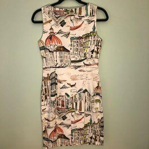 Size 4 Chetta B Venice Sleeveless Dress